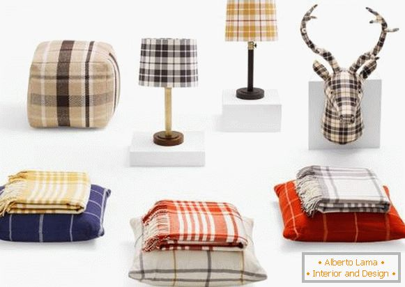 Трэнды для дома: Plaid Home Decor ад Target (Восень 2015)